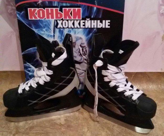 Коньки хоккейные 34разм. Фото 3. Красноярск.