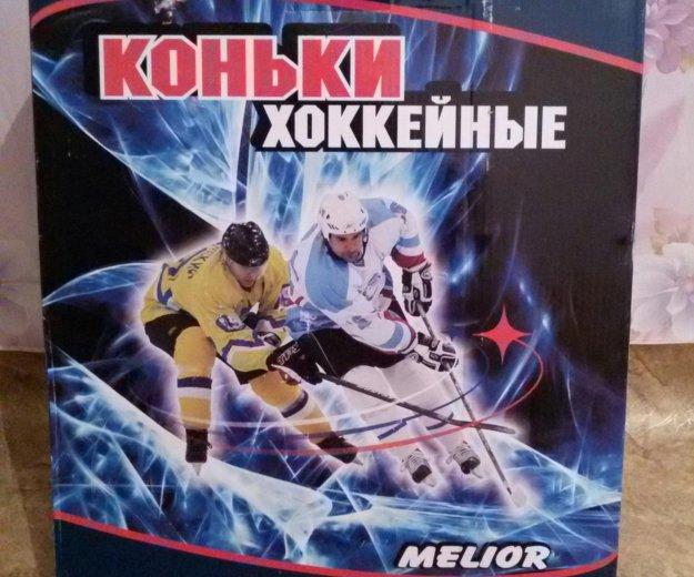Коньки хоккейные 34разм. Фото 4. Красноярск.