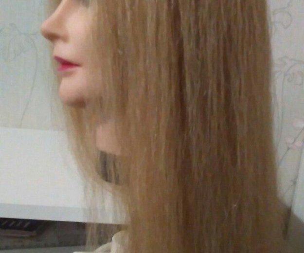Манекен для причёсок и кос. Фото 1.