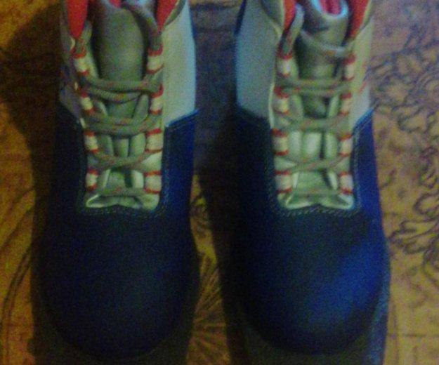 Лыжные ботинки. Фото 1. Электрогорск.