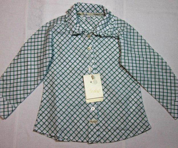 Рубашка на девочку trasluz (испания), 18мес. Фото 1. Красноярск.