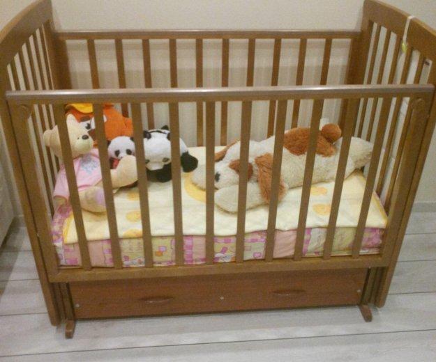 Детская кроватка б/у. Фото 3. Одинцово.