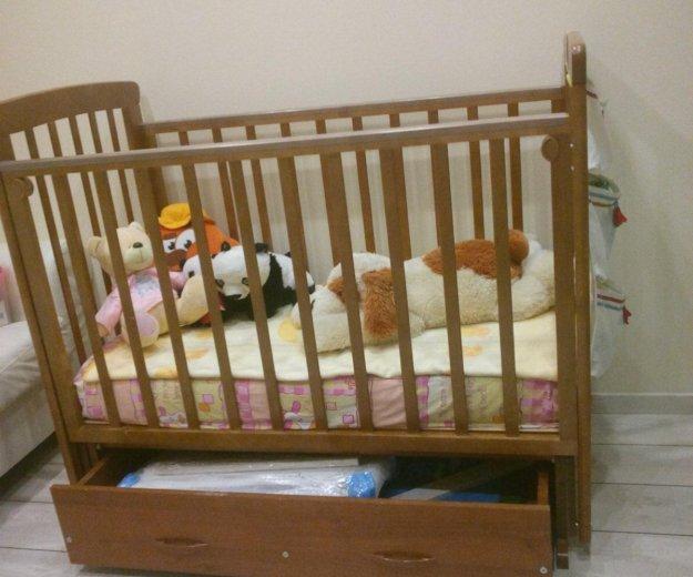 Детская кроватка б/у. Фото 2. Одинцово.