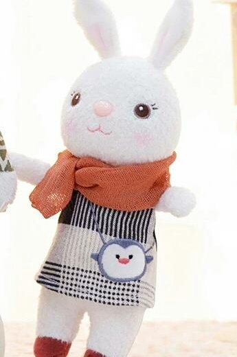 Metoo зайчик в шарфике с совой. Фото 1. Москва.