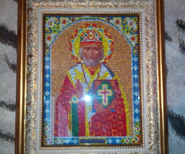Икона св.николай чудотворец. Фото 1. Поварово.