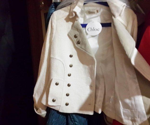 Пиджак пальто жакет демисезонный chloé. Фото 3. Москва.