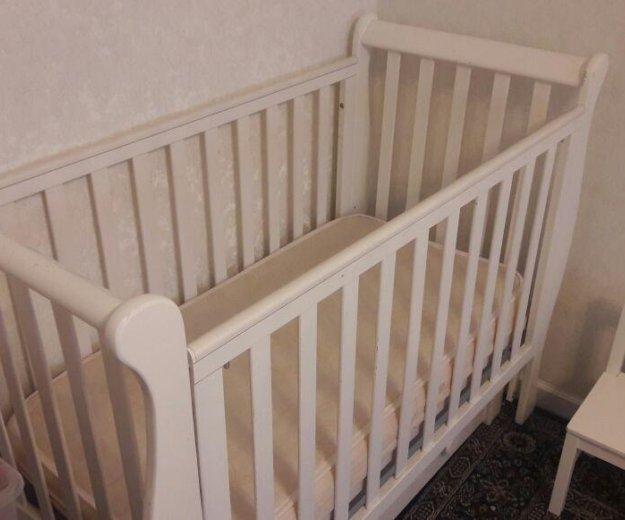 Детская кроватка лаванда. Фото 4.