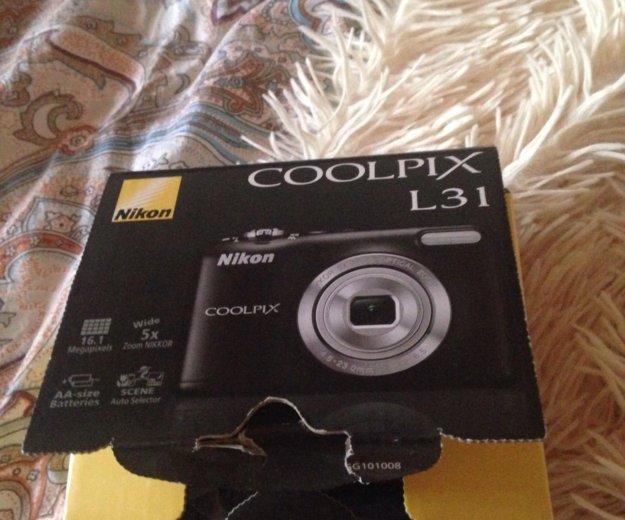 Nikon coolpix l31. Фото 1. Москва.