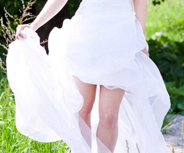 Короткое свадебное платье. Фото 1. Пермь.