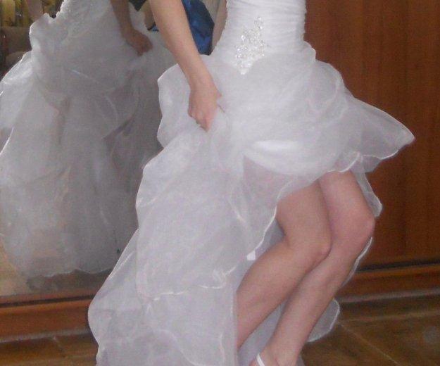 Короткое свадебное платье. Фото 4. Пермь.