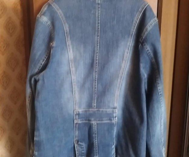 Пиджак джинсовый. Фото 2. Москва.