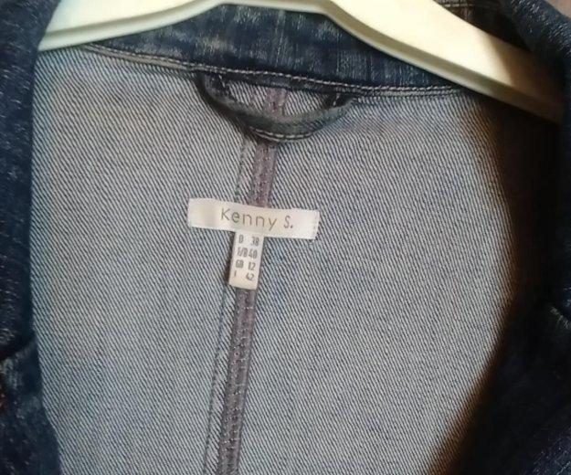 Пиджак джинсовый. Фото 3. Москва.