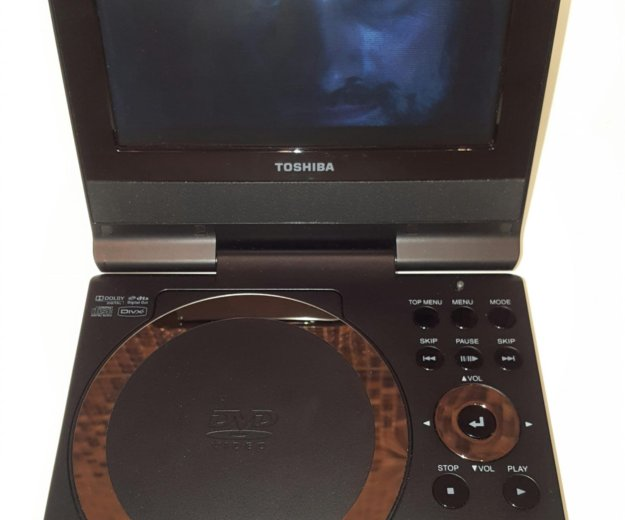 Toshiba sd-p73swr - портативный dvd плеер. Фото 4.