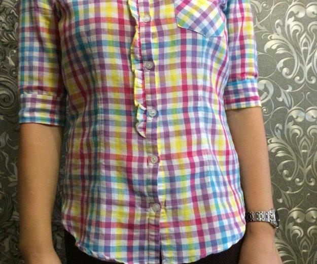 Рубашка в клеточку. Фото 1. Чебоксары.