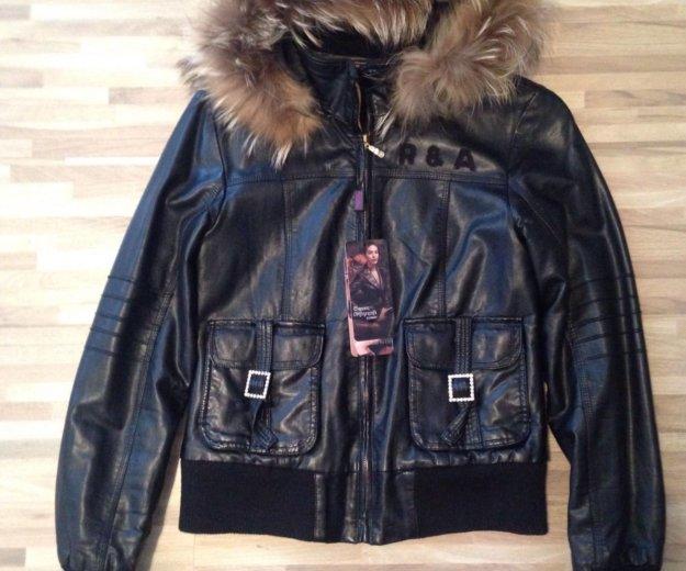 Куртка натуральная кожа , модная, молодежная. Фото 1.
