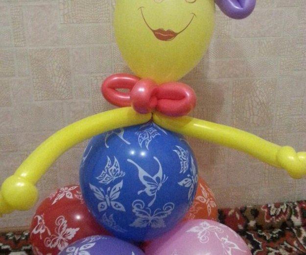 Подарки из шаров. Фото 1. Ковров.
