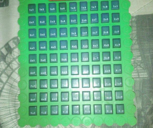 Тренажер заучивания таблицы умножения. Фото 2.