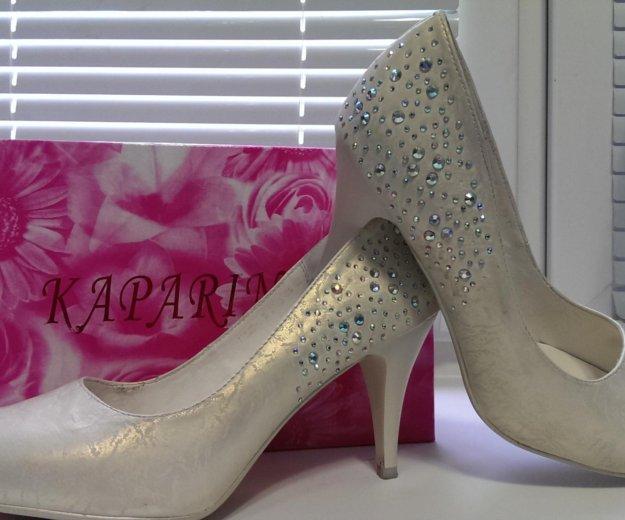Свадебные туфли. Фото 1. Люберцы.