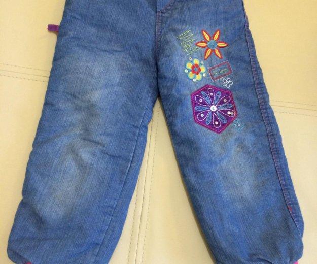Теплые джинсы. Фото 1. Щёлково.