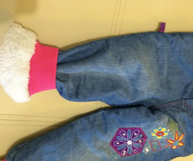 Теплые джинсы. Фото 2. Щёлково.