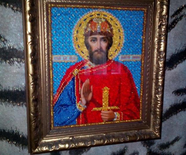 Икона  св.дмитрий. Фото 1. Поварово.
