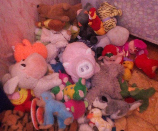 Большой мешок мягких игрушек.. Фото 3. Всеволожск.