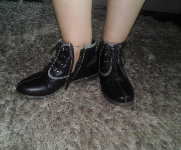 Ботинки. Фото 1. Лиски.