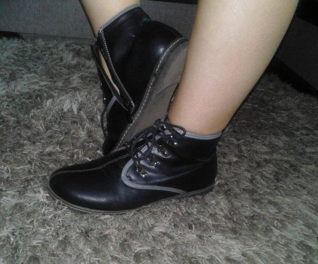 Ботинки. Фото 2. Лиски.