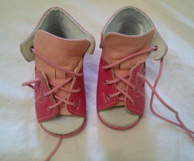 Ботинки 18 размер. Фото 1. Томилино.