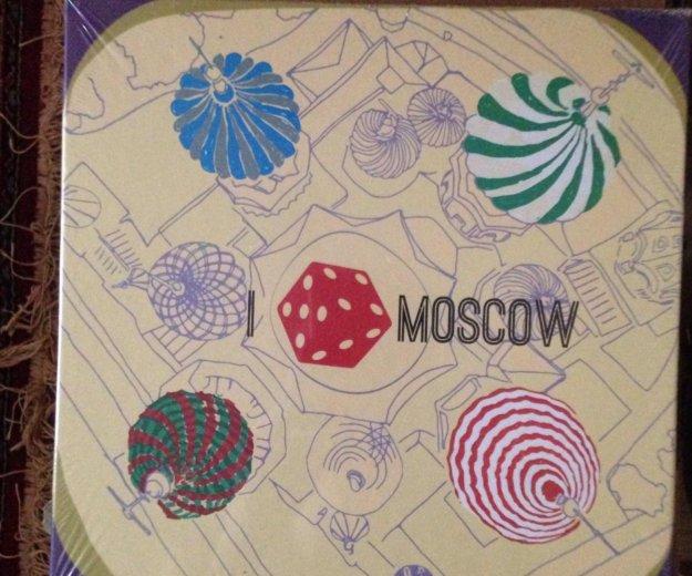 """Настольная игра """"я люблю москву"""". Фото 1."""