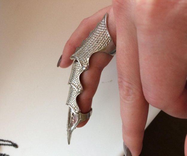 Кольцо коготь. Фото 1.