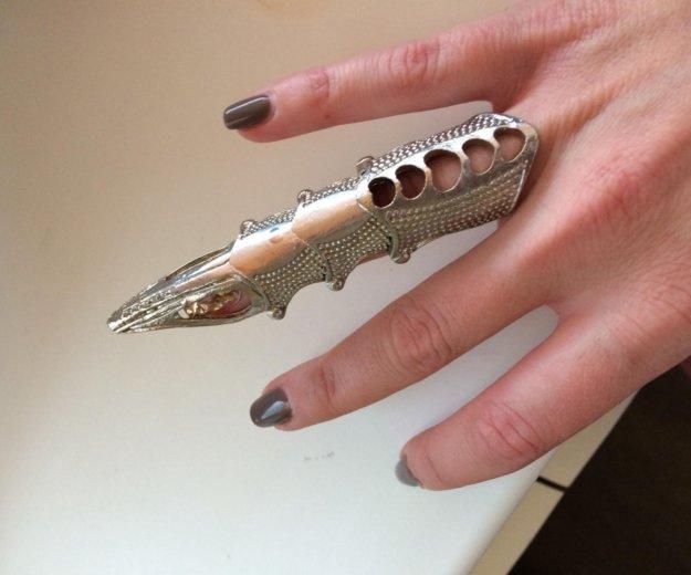 Кольцо коготь. Фото 2.
