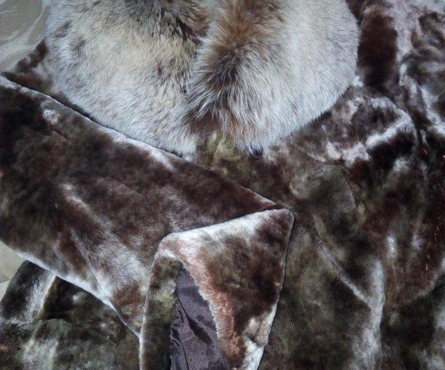 Натуральная мутоновая шуба. Фото 1. Новосибирск.