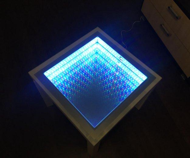 Журнальный стол с эффектом бесконечности. Фото 2. Чебоксары.