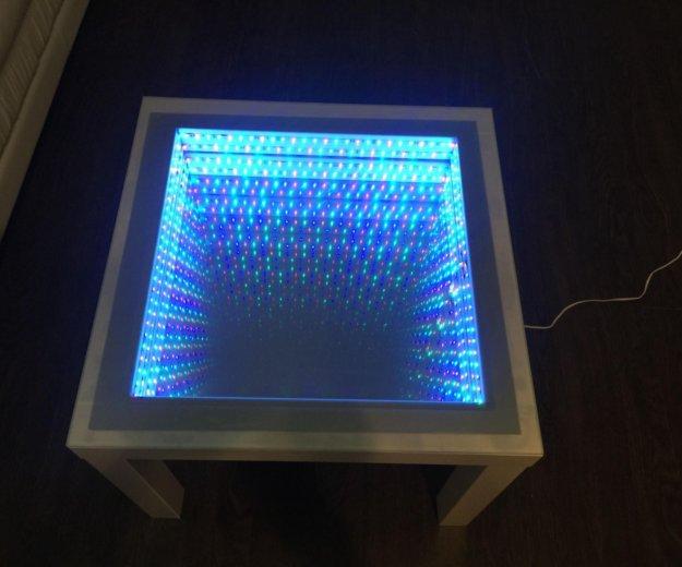 Журнальный стол с эффектом бесконечности. Фото 1. Чебоксары.