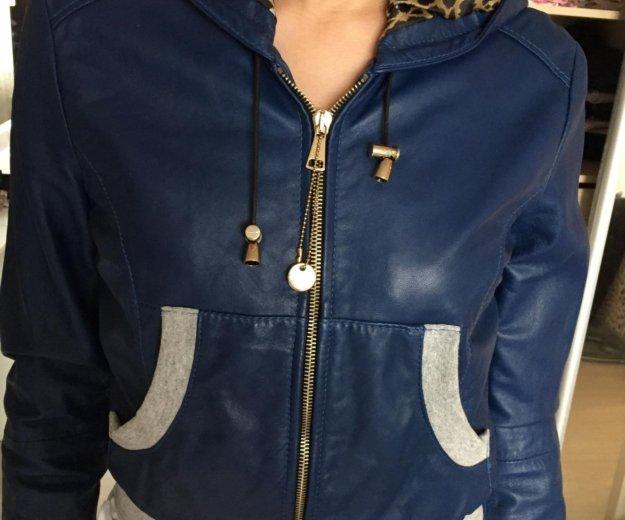 Куртка кожаная lmperial италия. Фото 2. Серпухов.