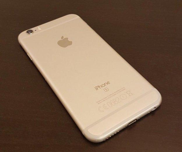 Iphone 6s 64gb silver ростест. Фото 2. Красногорск.