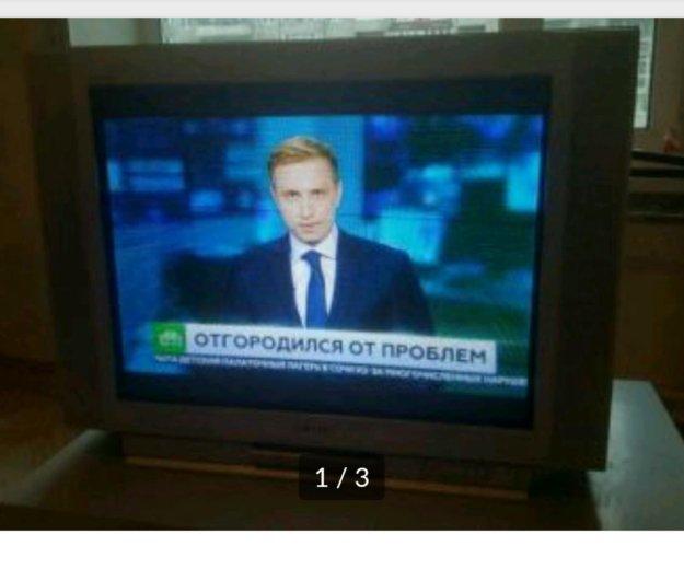 Телевизор sony black trinitron 29''. Фото 3. Санкт-Петербург.