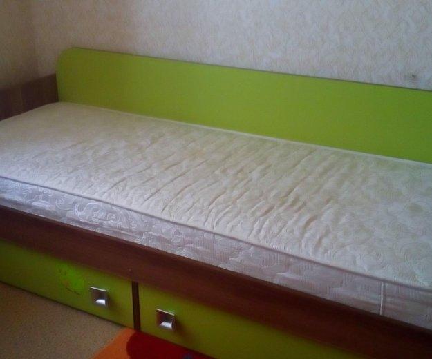 Кровать детская + ортопедический матрас. Фото 2.