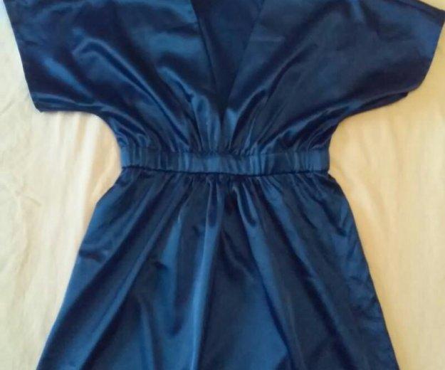 Платье шикарного синего цвета. Фото 1. Екатеринбург.