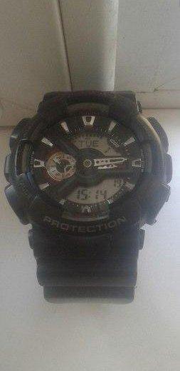 Продам оригинальные часы casio g-shock110. Фото 1. Новороссийск.