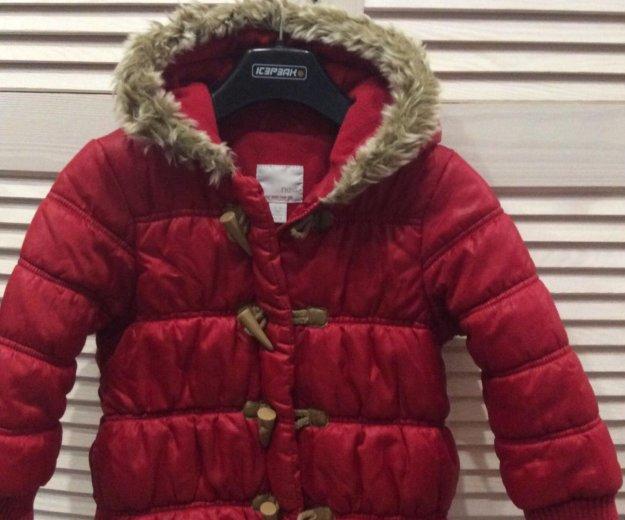 Куртка для девочки б/у 3-4 года. Фото 1. Калининград.