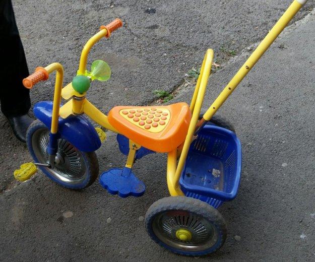 Трехколесный детский велосипед. Фото 2.