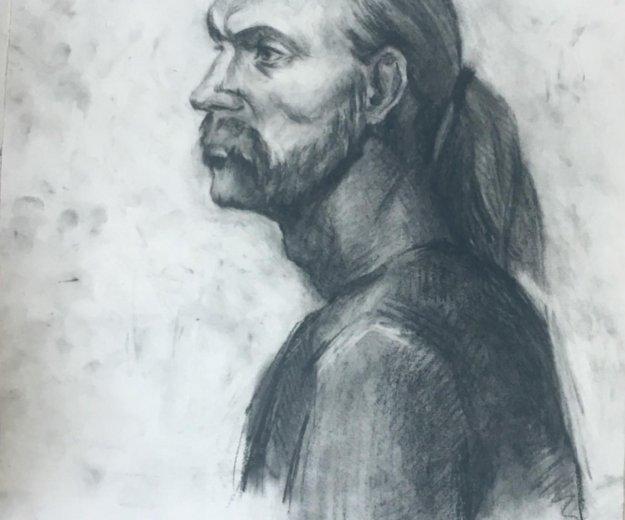 Рисую портреты. Фото 1. Орел.