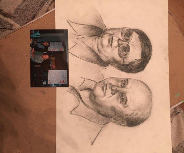 Рисую портреты. Фото 2. Орел.