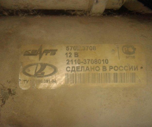 Стартер ваз 2110. Фото 1.