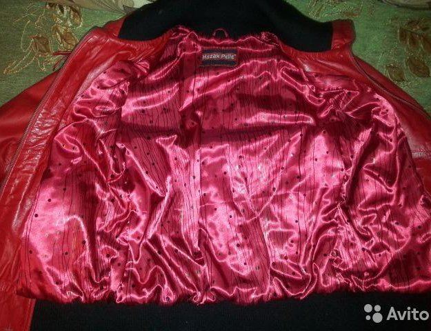 Куртка натуральная кожа. Фото 1. Фрязино.