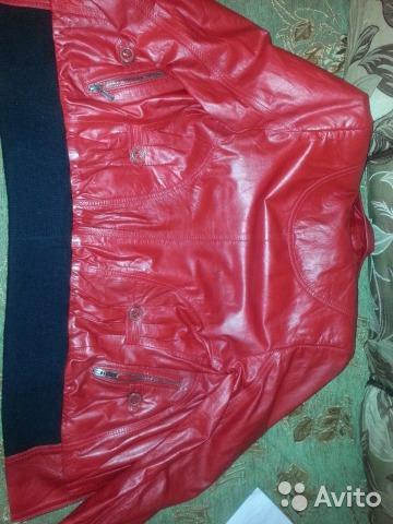 Куртка натуральная кожа. Фото 2. Фрязино.