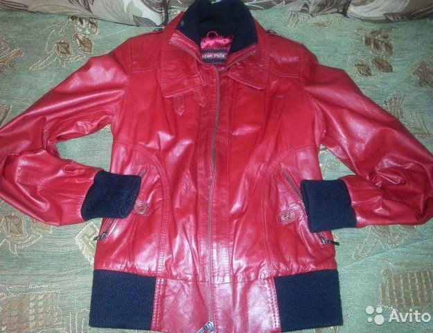Куртка натуральная кожа. Фото 4. Фрязино.