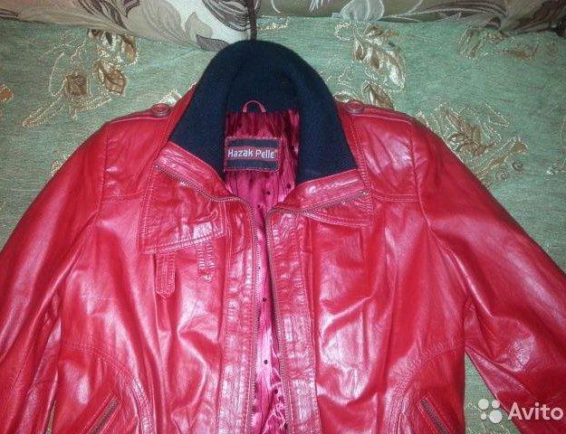 Куртка натуральная кожа. Фото 3. Фрязино.